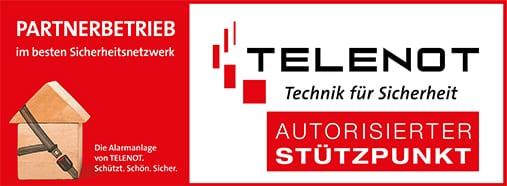 Autorizierter Telenot Stützpunkt